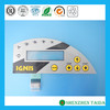 Customized emboss membrane switch with adhesive