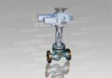 Electric plunger valve