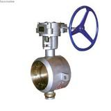 Welding butterfly valve