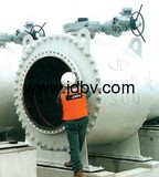 Trunnion Mounted Ball Valve with CE / API/ISO