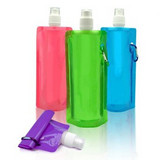 Straight Side Foldable Water Bottle