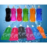 Foldable Plastic Drinking Water Bottle