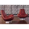 Noble Modern Leather Sofa, Living Room Furniture