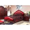 Solid Wood Furniture, Nobel Leather Bed, Room Furniture