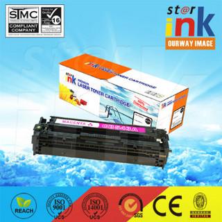 Compatible Premium Color Toner Cartridges for HP CB542 Magenta