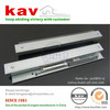 3 folding concealed auto close drawer slide| self close drwer rail