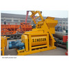 Twin-shaft concrete mixers