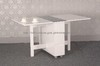 White light folding dining table