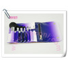 10pieces wind leaves bag makeup brush
