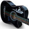 Lankro 38 folk guitar wood guitar violin guitar 2013 new arrival