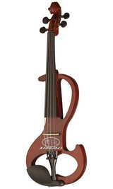 electric violin solidwood in different colors