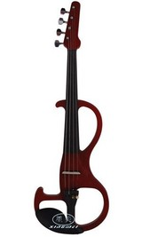 SFEVN-6 electric violin solidwood top, solidwood back and sides, solidwood figerboard and pegs