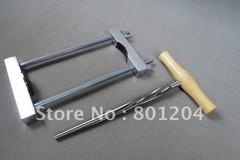 Cello maker,luthier tools,cello neck install clamp and CELLO PEG HOLE REAMER