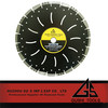 600mm Laser Welded Multi Blade Cutting Saw Diamond Circular Saw Blade For Asphalt,concrete,masonry