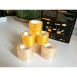 BOPP adhesive stationery tape with plastic core