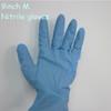 9 inch light blue Disposable medical examination nitrile gloves