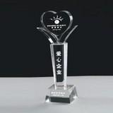 Acrylic trophy  precision mould