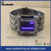 2013 led watch sport stainless steel back,stainless steel back water resistant led watch