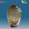 tea color uvioresistant acrylic outdoor globe wall lamp decoratif pipe