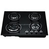 Four Burner Tempered Glass Gas Stove