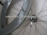 13.05281 carbon clincher wheels 650C road bike 3k 12k ud