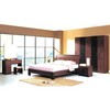 MDF+Paper Home Furniture,Panel Bedroom Set,Wood Bed and Wardrobe,Nightstand,Dresser with Mirror,Amorie,Chest