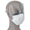 4-Ply repel medical disposable mask with shield