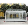glass container plant house,prefabricated house