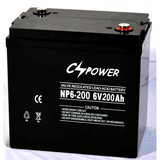 Rechargeable Telecom Battery Golf cart battery 6V200Ah