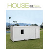 Cheap prefabricated container villa