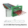 Metal roof sheet cold roll forming machine