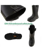 CE EN20345 Leather Hard Safety Boots with Steel Toe and Plate