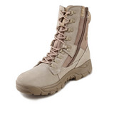 CE Steel Toe Military Safety Shoes/Foot Protect/Police Shoes