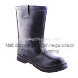 CE EN20345 Steel Toe Anti-skidding Leather Boots