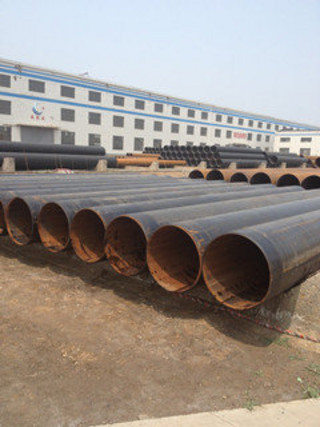 3 PE Coated Saw Steel Pipe