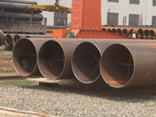 API 5L Sand Blast Large Diameter Steel Pipe
