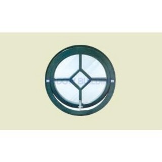pvc round window
