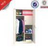 Steel almirah,2 door clothes cabinet metal wardrobe