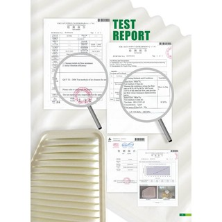 Air Filter Test Report
