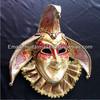 Italy Venice Carnival Mask Full Face Jester Mask Paper Mache Mask