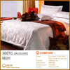100%Cotton 300TC Jacquard Hotel Linen Bedding Set, Bed Sheet, Duvet Cover, Pillow Case | MDH