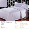 100%Cotton 300TC Jacquard Hotel Linen Bedding Set, Bed Sheet, Duvet Cover, Pillow Case | MGG
