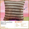 Color Stripe Decorative Pillow Case for Hotels SPA Clubs