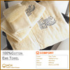 100%Cotton Embroidery EMB Towel for Hotel & SPA