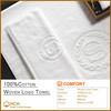 100%Cotton Jacquard Woven Logo Towel for Hotel & SPA