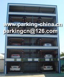 Hydraulic Puzzle Parking System 6 Levels