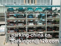 Hydraulic Puzzle Parking System 5 Levels