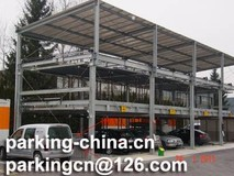 Hydraulic Puzzle Parking System 3 Levels