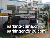 Hydraulic Puzzle Parking System 2 Levels