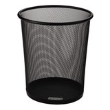 Mesh Round Wastebasket,Office Trash Bin